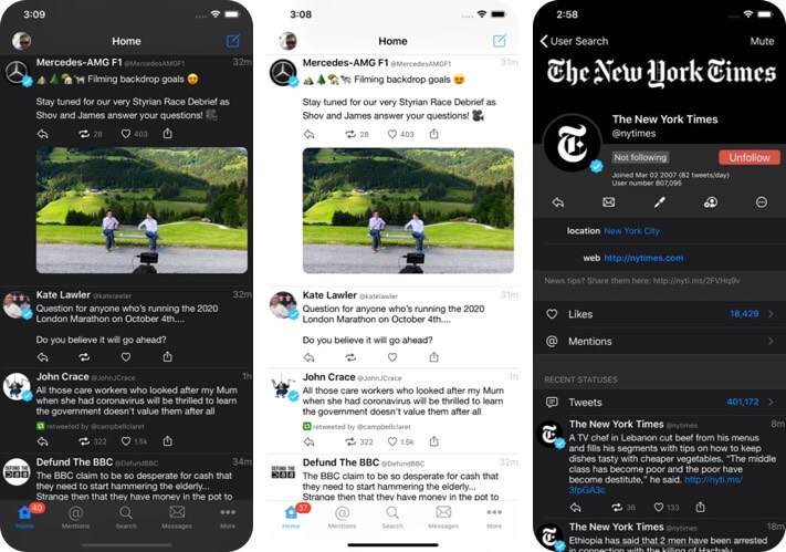 Tweetings iPhone and iPad App Screenshot