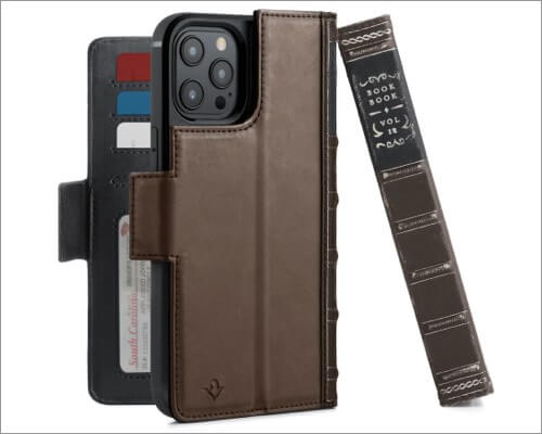 Twelve South BookBook Leather Case for iPhone 12 Pro Max