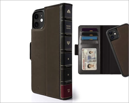 twelve south bookbook wallet case for iphone 11