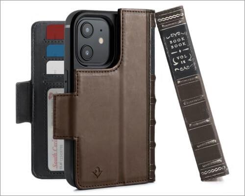 Twelve South BookBook Wallet Case for iPhone 12 Mini