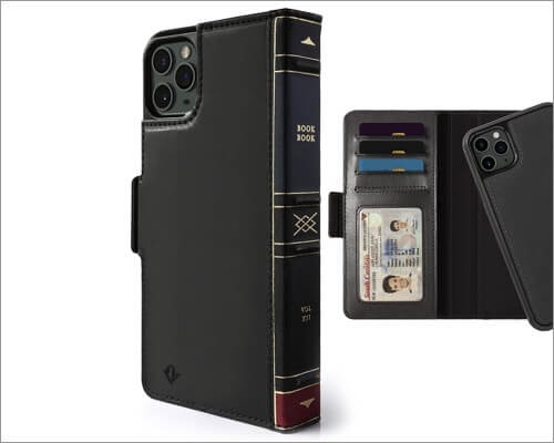 twelve south iphone 11 pro bookbook wallet case