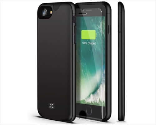 u-good lightweight battery case for iphone se 2020