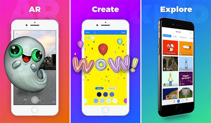 uMake iPad Pro App Screenshot