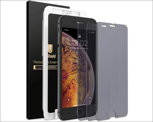 uShield iPhone SE 2020 Anti-Spy Privacy Screen Protector