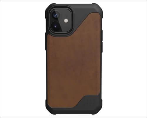 UAG Metropolis Lite Leather Case for iPhone 12 Mini