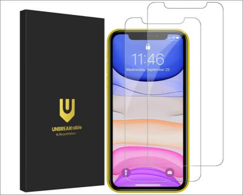 unbreakcable screen protector for iphone 11