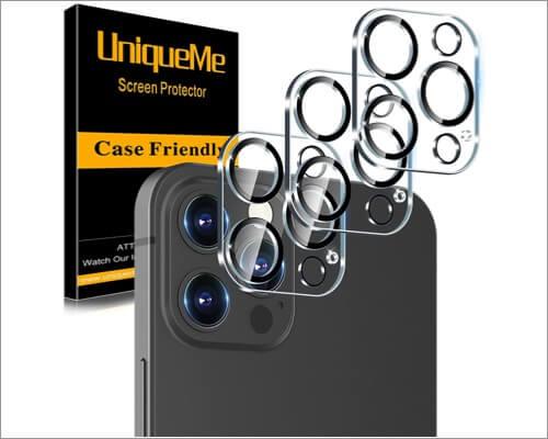 UniqueMe iPhone 12 Pro Max Camera Lens Protector