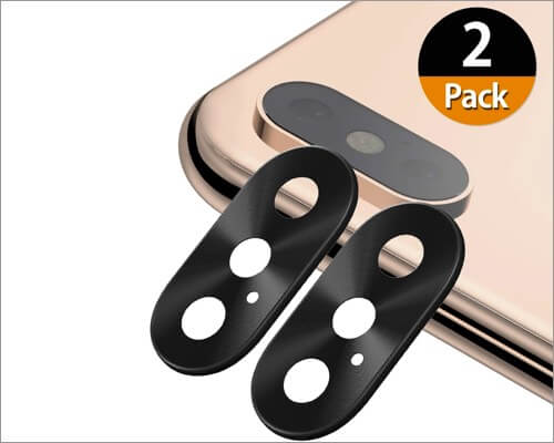 uniwit camera lens cover for iphone xs and xs max