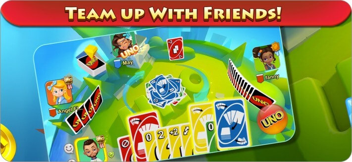 UNO iPhone and iPad Card Game Screenshot