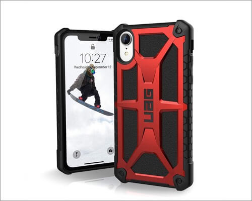 urban armor gear rugged case for iphone xr