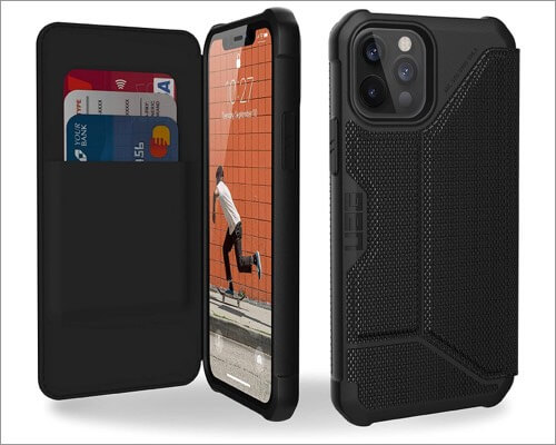 URBAN ARMOR GEAR Wallet Case for iPhone 12 and 12 Pro