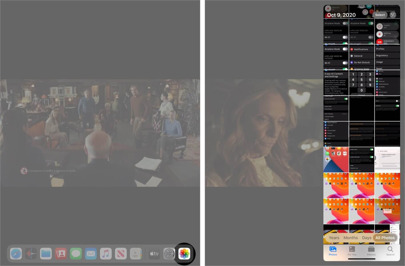Use Apps While Watching Video with PIP Mode on iPad