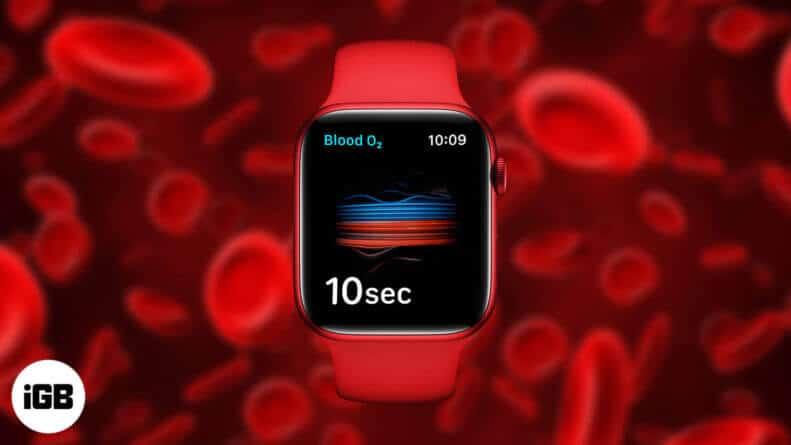 Use the Blood Oxygen App on Apple Watch