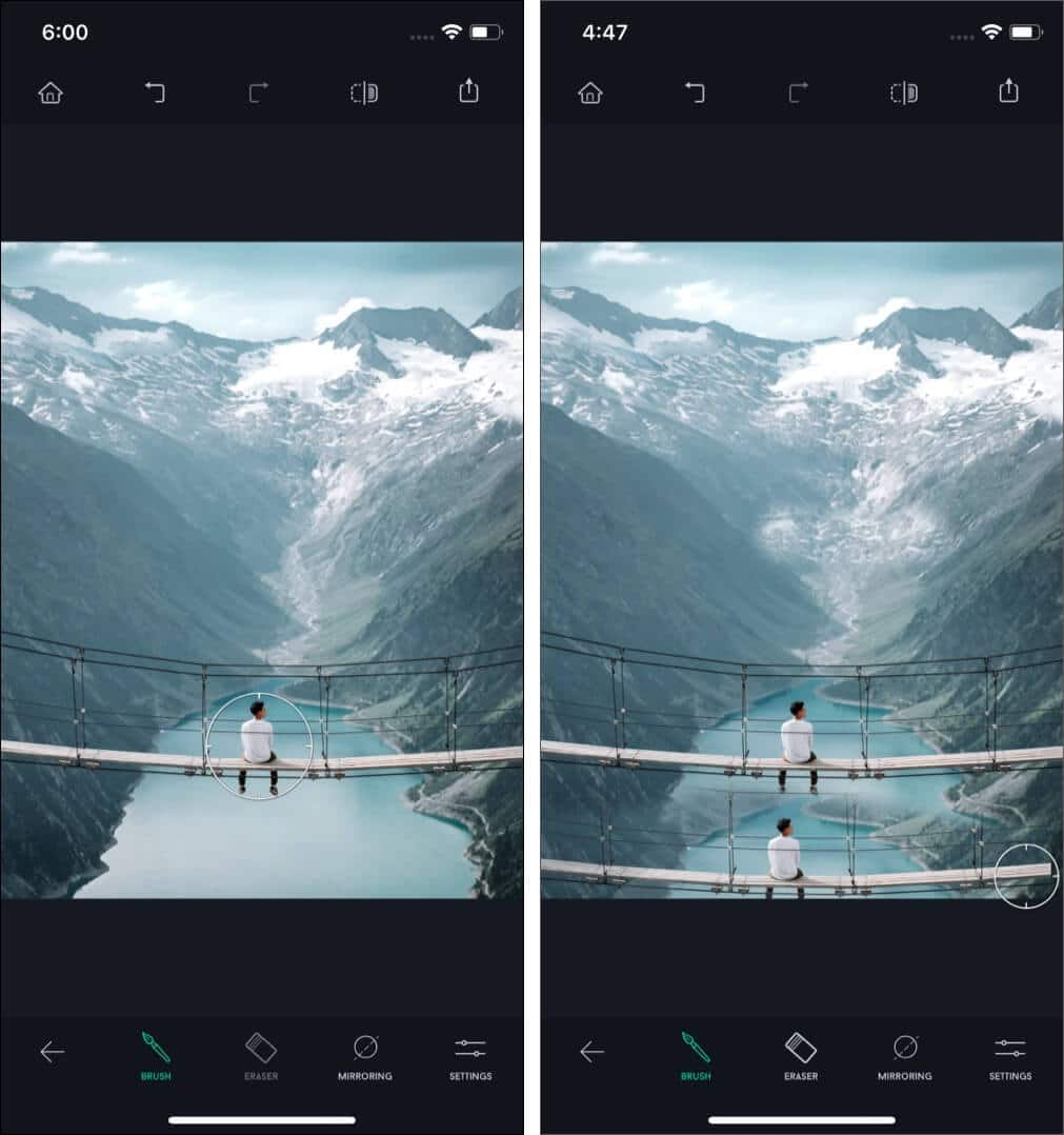 Use Clone Stamp in TouchRetouch App