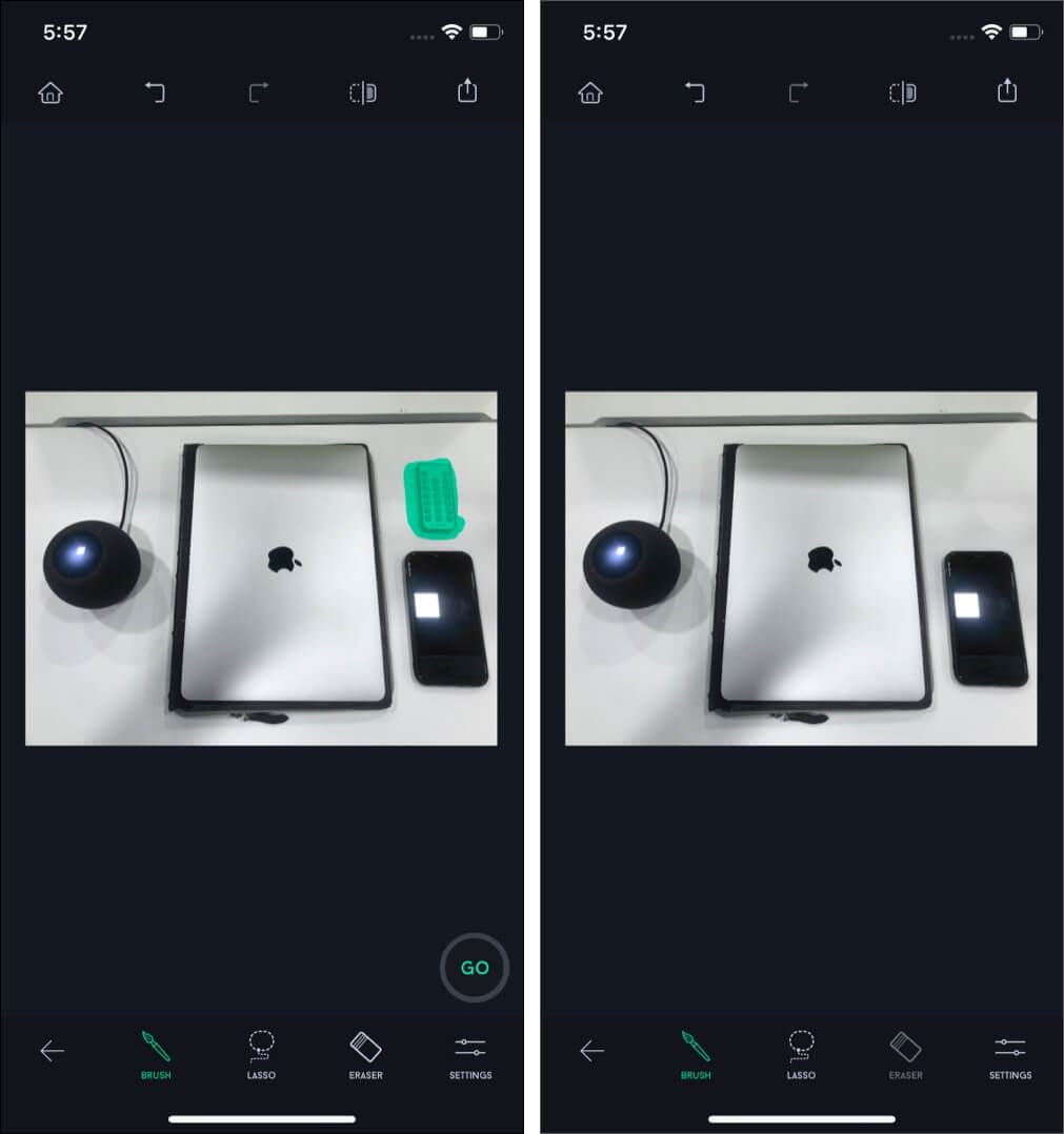 Use Object Removal in TouchRetouch iOS App