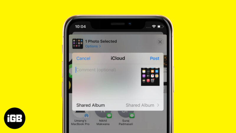 How to Use Shared Albums on iPhone and iPad