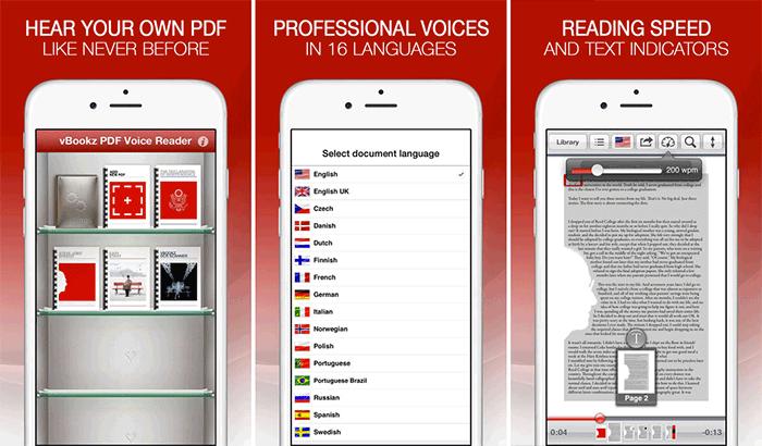 vBookz – Free Audiobooks iPhone and App Screenshot