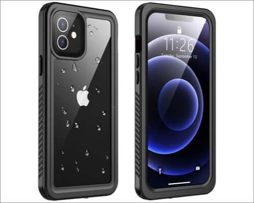 Vapesoon Designed Waterproof Case for iPhone 12 Mini