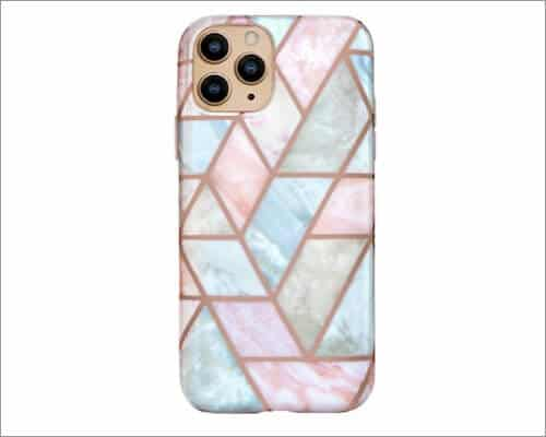 Velvet Caviar Marble Designed Case for iPhone 12 and 12 Pro