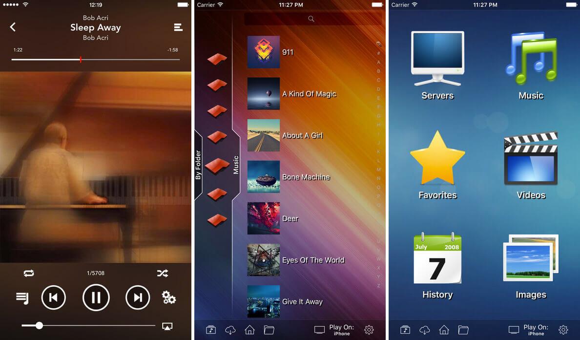 viPlay iPad App Screenshot