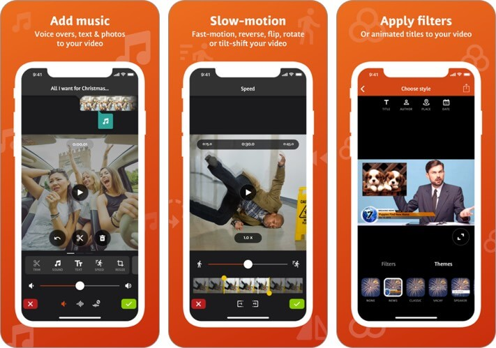 videoshop iphone and ipad app screenshot