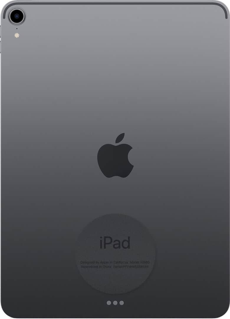 View Model Number on Backside of iPad
