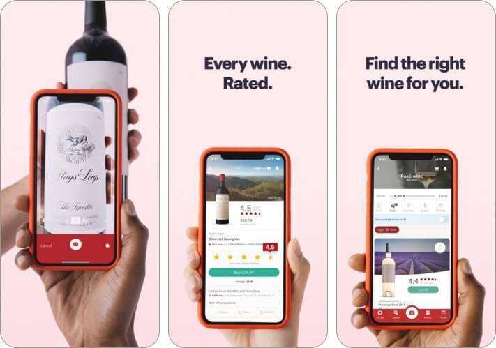 Vivino best wine apps for iPhone screenshot