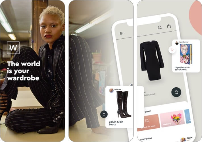 wardrobe iphone and ipad fashion app screenshot