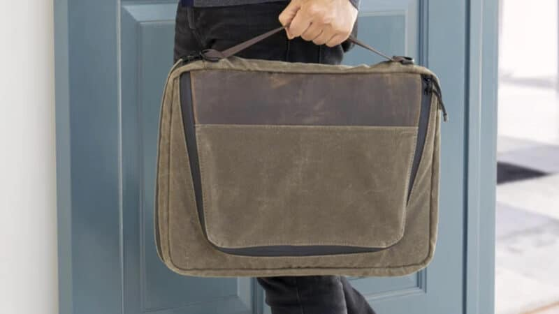 waterfield tech folio plus laptop bag review