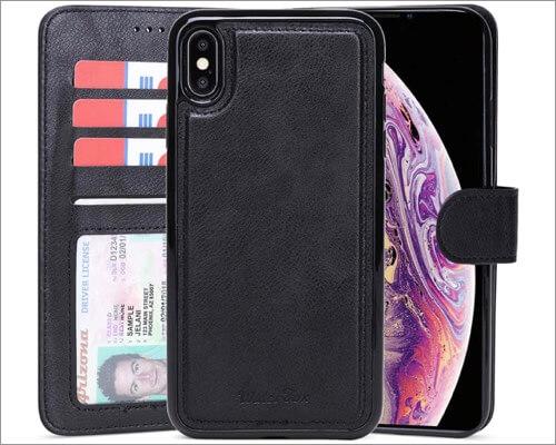 waterfox wallet case for iphone xr