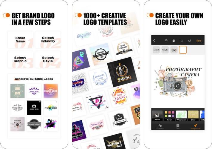 watermark designer iphone and ipad logo maker app screenshot