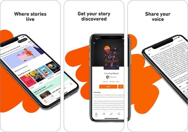 wattpad iphone app screenshot