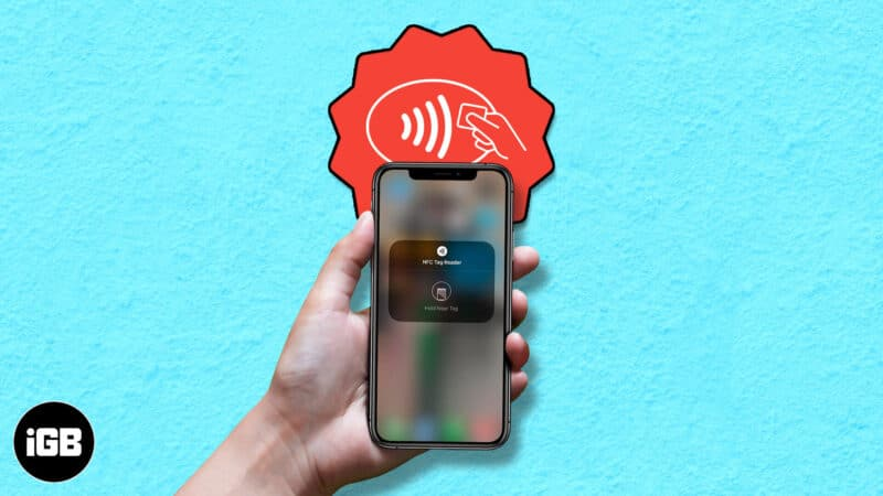 what is nfc tag reader and how to use it on iphone