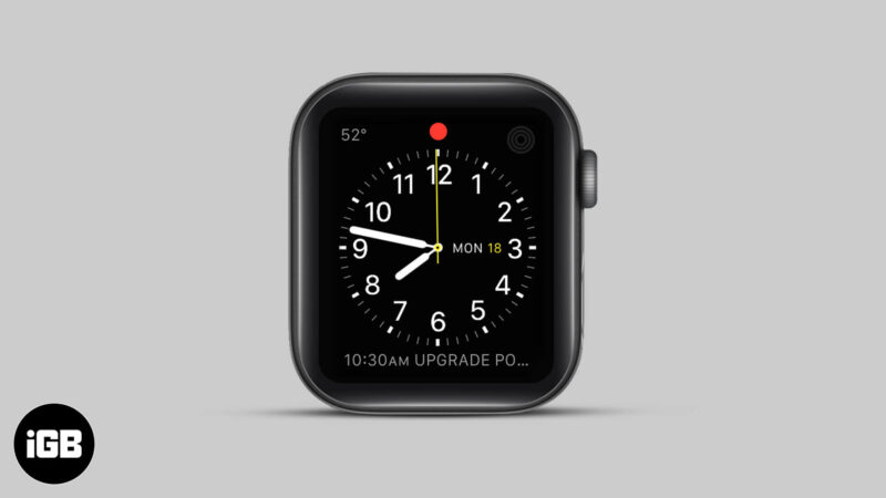 What Does Red Dot on Apple Watch Means and How to Get Rid of It