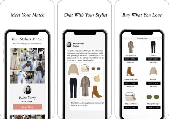 wishi - premium styling iphone and ipad fashion app screenshot