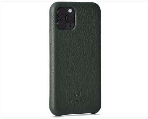 woolnut leather case for iphone 11 pro