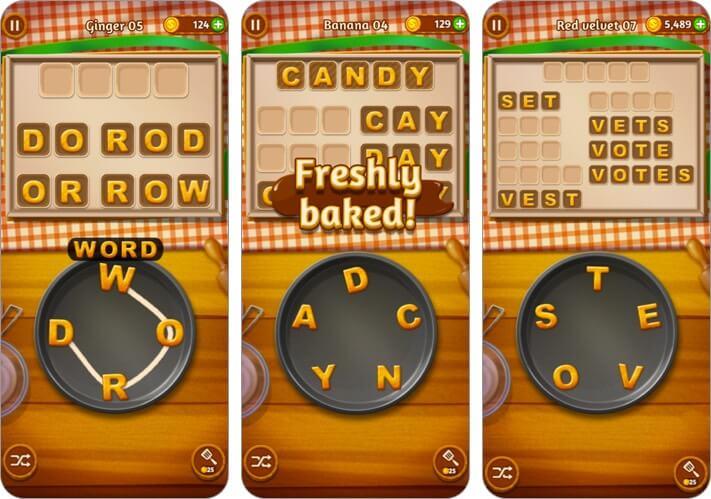 Word Cookies iPhone and iPad Game Screenshot