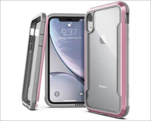 x doria defense shield iphone-xr bumper case