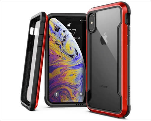 x doria defense shield rugged case for iphone xr