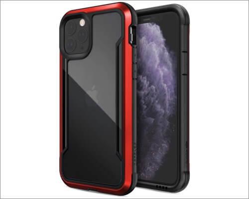 x doria defense shield transparent case for iphone 11 pro