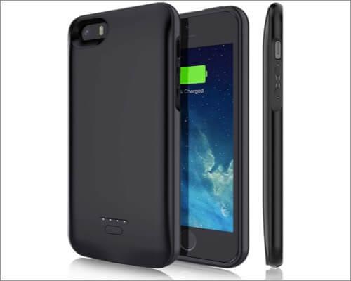 YISHDA iPhone Se, 5s, and 5 Battery Case