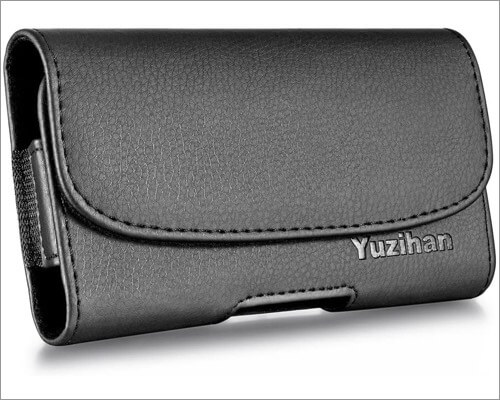yuzihan leather belt holster pouch for iphone xr