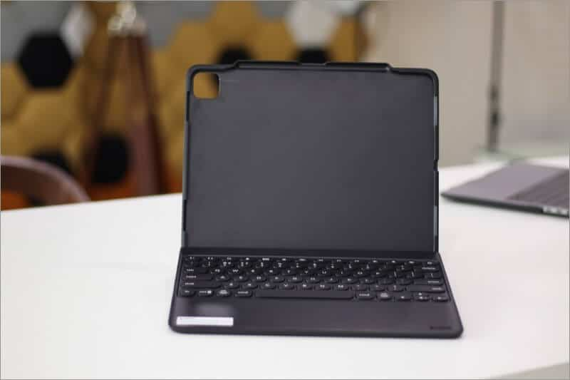 zagg rugged book go wireless keyboard case for ipad pro