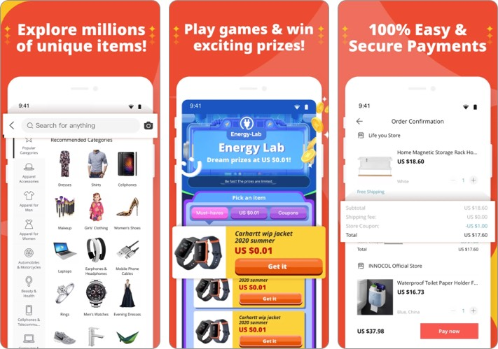 AliExpress best shopping app for iPhone
