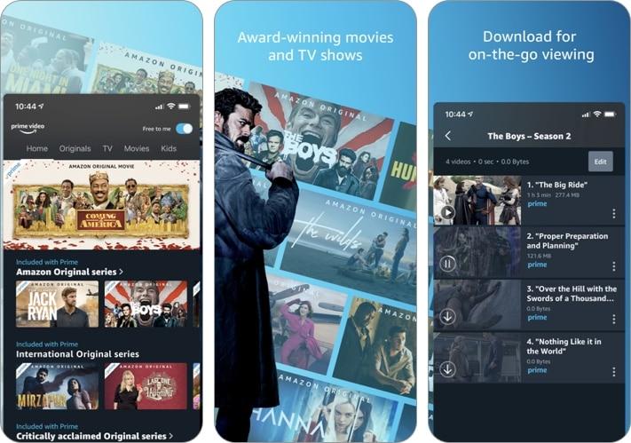 Amazon Prime Video iPhone and iPad app