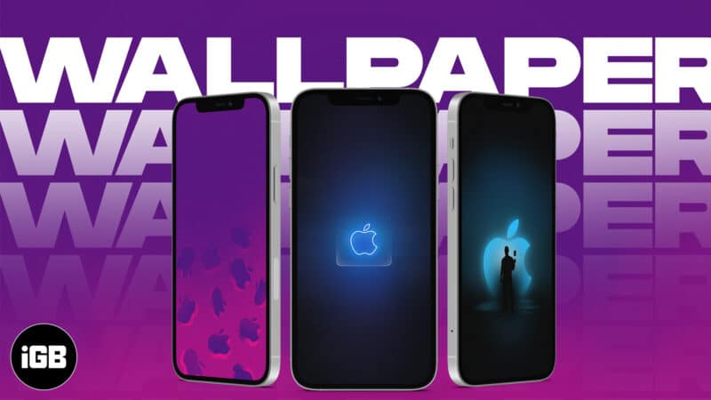 Apple Logo Wallpaper for iPhone