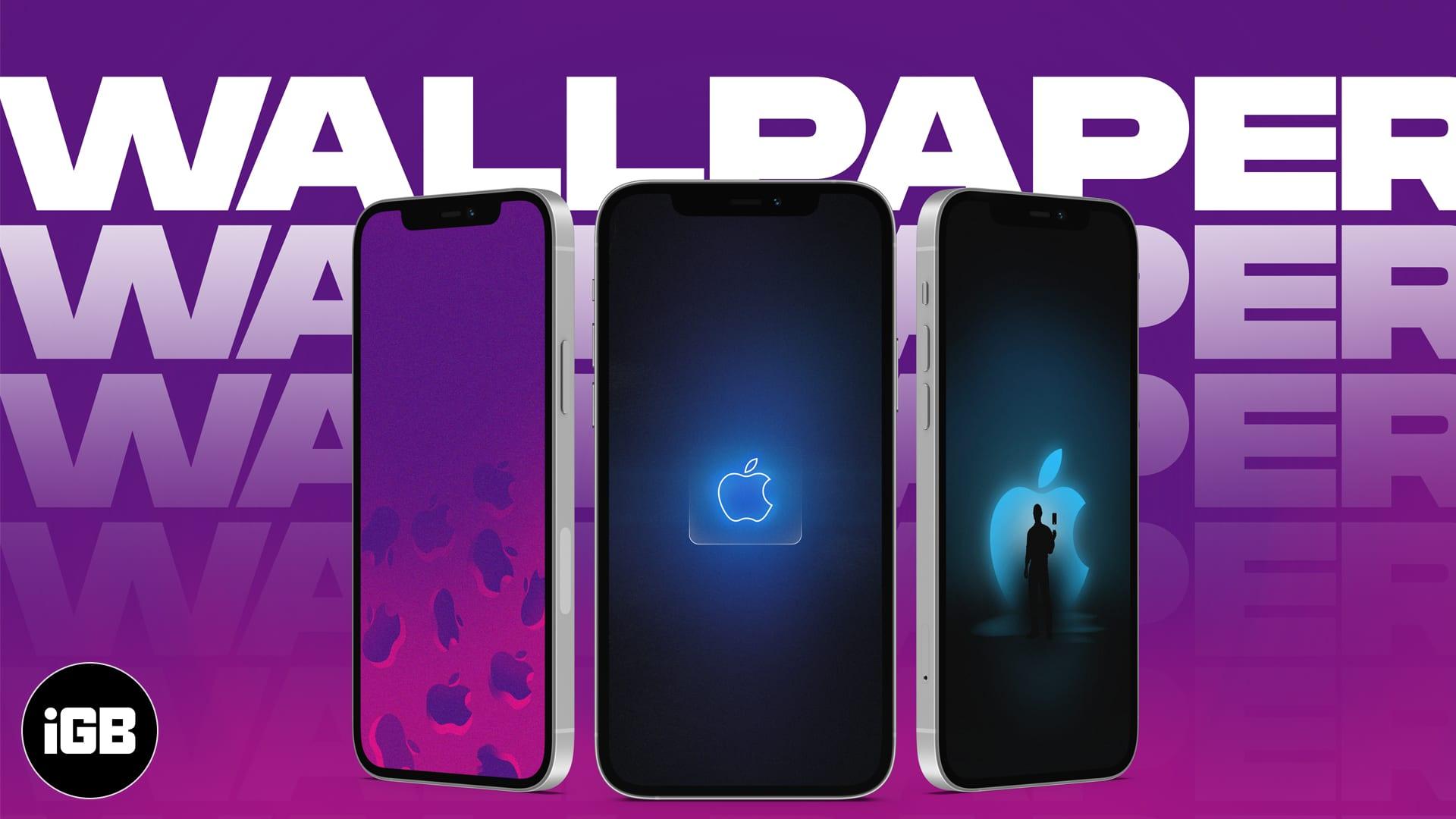 21 Stunning Apple logo wallpapers for iPhone   iGeeksBlog