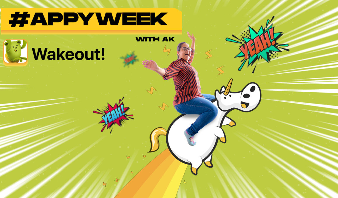 AppyWeek with AK Wakeout iOS app review