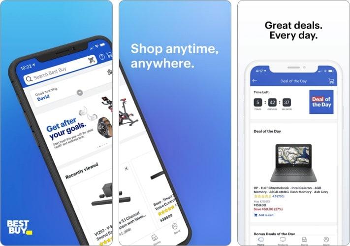 Best Buy best shopping app for iPhone
