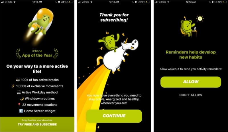 How Wakeout iOS app helps you stay fit and focussed